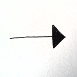 full triangle head arrow